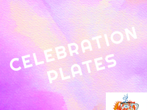 CELEBRATION PLATES